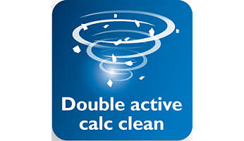 Double Active Calc System to help prevent calc build-up