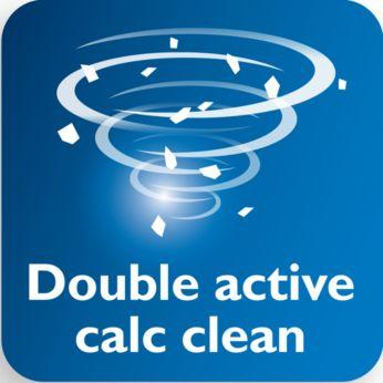 Odstraňovanie systémom Double Active Calc zabraňuje nahromadeniu vodného kameňa