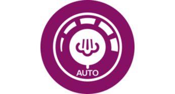 Automatyczny regulator pary zapewnia odpowiednią ilość pary do każdego rodzaju tkanin