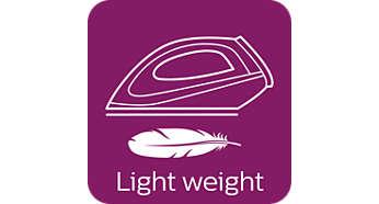 ขนาดกะทัดรัดและน้ำหนักเบาช่วยให้เก็บได้อย่างง่ายดาย