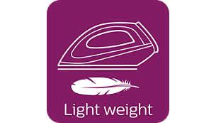 Kompakte Größe und geringes Gewicht für eine leichte Aufbewahrung