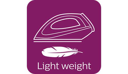 Tamaño compacto y peso ligero para guardar fácilmente