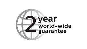 With 2 year guarantee