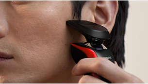 口ヒゲ・もみあげのお手入れに最適な着脱式トリマー