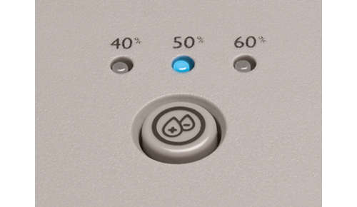 3-step humidity setting