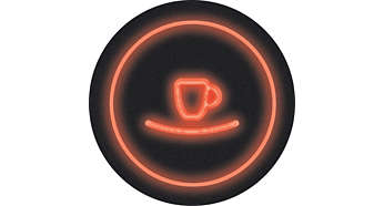Az azonnali indításnak köszönhetően egyetlen gombnyomás szükséges a bekapcsoláshoz és kávéfőzéshez