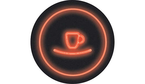 Démarrage instantané pour allumer la machine et préparer du café à la pression d'un bouton