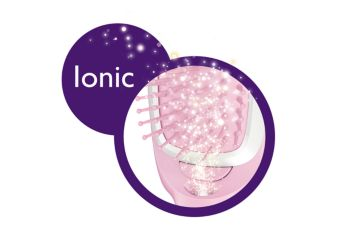 Ionic care for smooth and shiny hair