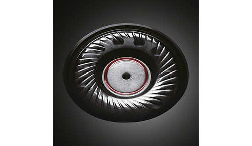 Drivers van 50 mm ontwikkeld voor krachtige 3500 mW-verwerking