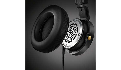 Afneembare, vervangbare en comfortabele oorkussens
