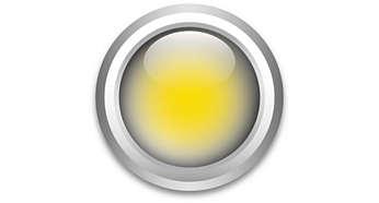 Warmweißer blendfreier Lichteffekt