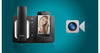 Perfectă pentru FaceTime sau alte aplicaţii de videoconferinţă