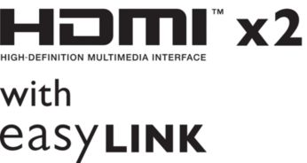 """Dvi HDMI įvestys ir """"EasyLink"""" – junkitės prie įvairių įrenginių"""