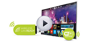 Wi-Fi Ready: opcjonalna karta do łączenia się z Internetem