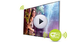 Wi-Fi integrat pentru conectare uşoară