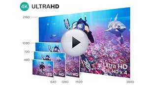 4K Ultra HD: непревзойденное качество изображения в высоком разрешении