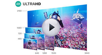 4K Ultra HD: noch nie dagewesene Auflösung