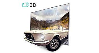 Незабываемые впечатления от просмотра благодаря реалистичному 3D-изображению