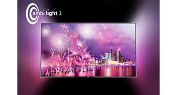 Technologia Ambilight na zawsze odmieni Twój sposób postrzegania telewizorów