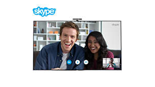 Skype™ brings people together (camera optional)