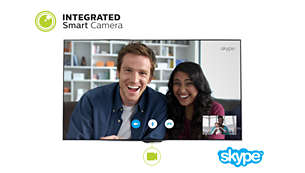 En integrerad smart-kamera visas precis när du behöver den