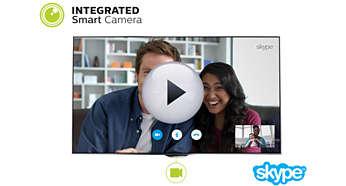 Zintegrowana kamera Smart Camera jest aktywowana, gdy jej potrzebujesz