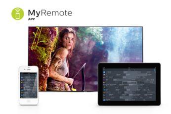 Ứng dụng MyRemote: cách thức tương tác với TV thông minh hơn
