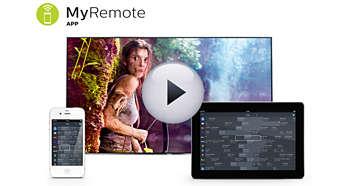 Aplicaţia MyRemote: cea mai inteligentă metodă de a interacţiona cu televizorul dvs.
