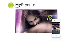MyRemote Anwendung: die clevere Art, mit Ihrem Fernseher zu interagieren