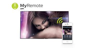 Aplicação MyRemote: a forma mais inteligente para interagir com o seu televisor