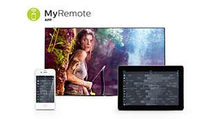 Application MyRemote: la façon plus intelligente d'interagir avec votre téléviseur