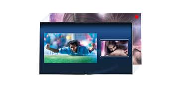 Kahden virittimen avulla voit katsoa tai nauhoittaa useita ohjelmia