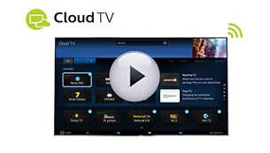 Cloud TV apporte des chaînes supplémentaires à votre téléviseur