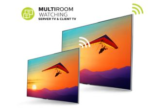 Multiroom TV — chia sẻ TV trực tiếp và bản ghi giữa các TV