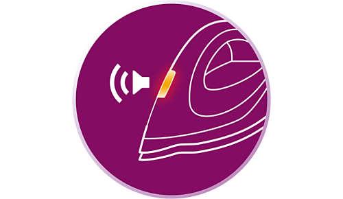 Smart Calc Clean-systeem en Calc Clean-herinnering met geluid en lampje