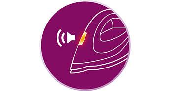 Système anticalcaire intelligent CalcClean avec indicateur sonore et lumineux