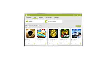 Google Play™ store - a világ az ujjai előtt hever