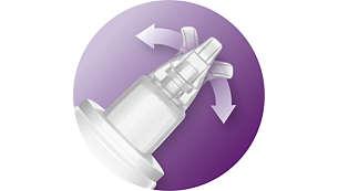 Nasensauger mit weicher und flexibler Spitze