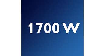 Suyun kısa sürede ısınması için 1700 Watt ısıtma sistemi
