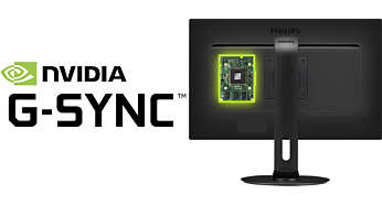 NVIDIA G-SYNC™ for glidende, hurtig gaming