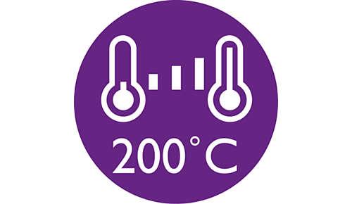 Impostazioni digitali della temperatura per il tuo tipo di capelli