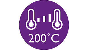 Цифровая настройка температуры для различных типов волос