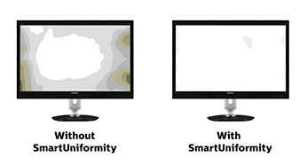 SmartUniformity para imágenes coherentes