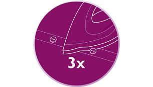 Triple Precision-voorkant voor optimale controle en zichtbaarheid