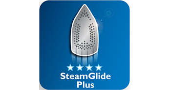 SteamGlide Plus soleplate: Our best gliding, faster ironing