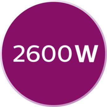 2600W para un calentamiento rápido de la plancha