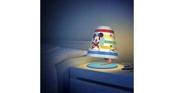 Ideal light for your child's desk or bedside
