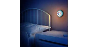 Får barnet att känna sig tryggt nattetid