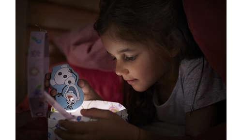 Håller barnet sällskap nattetid