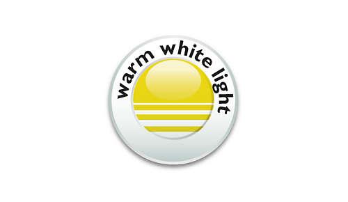 Warm wit licht